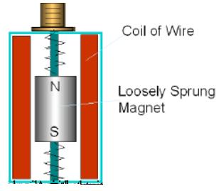 Hình 5: Cấu tạo cảm biến vận tốc rung