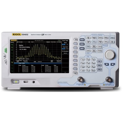 Rigol spectrum analyzer